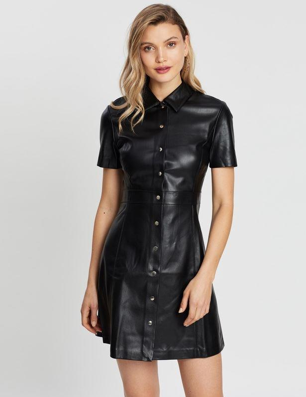 "M.N.G skin dress, $99.95. [Buy it online via The Iconic here](https://www.theiconic.com.au/skin-dress-954573.html|target=""_blank""