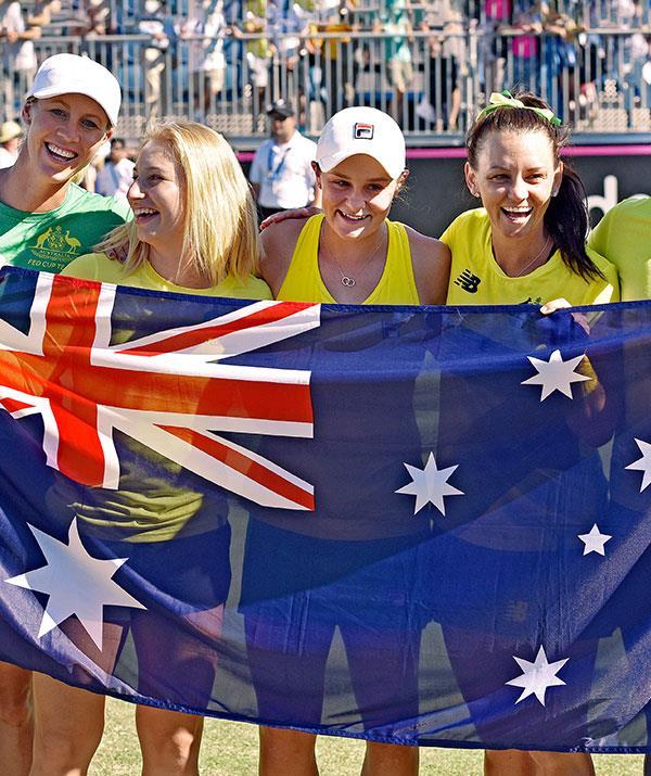 Ash Barty has represented Australia at Various international tournaments.