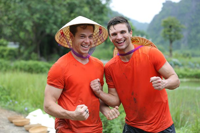 **TYLER AND TOM FALL SHORT (THE AMAZING RACE AUSTRALIA)** <br><br> They appeared destined to win, but despite coming first in eight of the 10 legs, footy mates Tyler and Tom fell at the penultimate hurdle. Forced to complete two challenges instead of one, they failed to qualify for the final by just seconds.