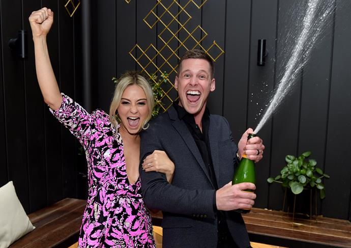 **TESS AND LUKE BLITZ THE BLOCK (THE BLOCK)** <br><br> In the weeks leading up to *The Block* finale, no-one was really talking up Tess and Luke's chances of winning. So when the underdog couple's house at the newly renovated The Oslo, in Melbourne's St Kilda, went for $630,000 over reserve, jaws hit the floor. They ended up walking away with a cool $730,000 in total.