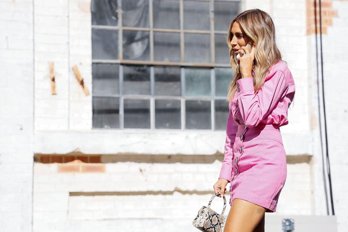 Nadia Bartel is already across 2020s key trends if her 2019 wardrobe was anything to go by.