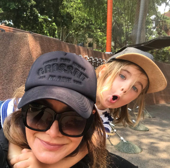 Michelle Bridges is a proud mum of one to son, Axel.