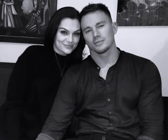 """**Channing Tatum and Jessie J** <br><br> In late December 2019, it was revealed the *Magic Mike* star and the British singer had parted ways after dating for just over a year.  <br><br> """"Channing and Jessie broke up about a month ago,"""" a source told *[US Weekly](https://www.usmagazine.com/celebrity-news/news/channing-tatum-jessie-j-split-after-more-than-1-year-together/