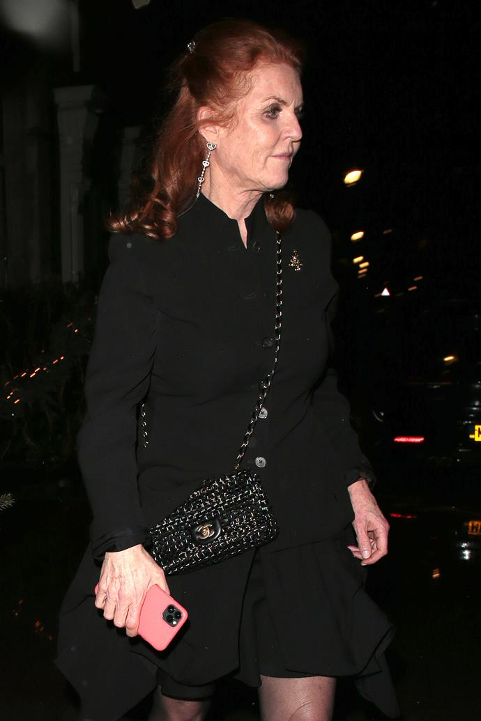 Sarah Ferguson was a guest of honour at Beatrice's engagement party.