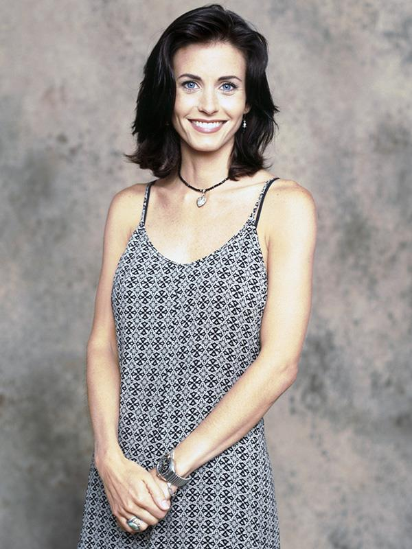 A young Courteney pictured in 1994.