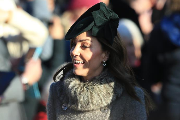 Duchess Catherine was the epitome of winter chic.