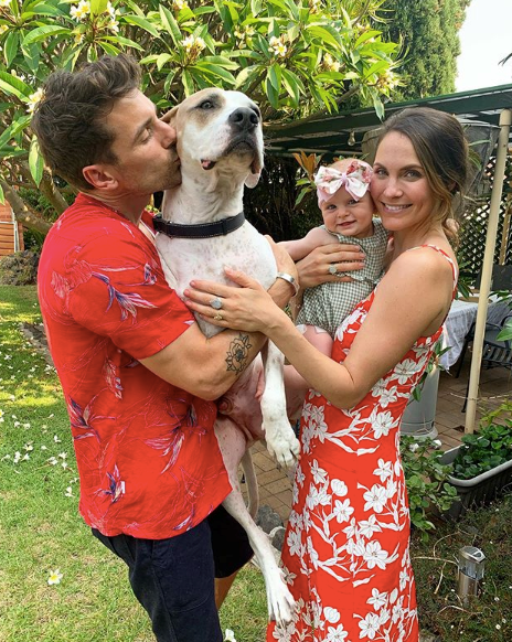 "Bachie lovebirds Laura Byrne and Matty J had plenty to celebrate this year - their [first Christmas](https://www.nowtolove.com.au/parenting/pregnancy-birth/laura-byrne-matty-j-baby-55827|target=""_blank"") with baby daughter Marlie-Mae, and possibly their last before they become a married couple!"