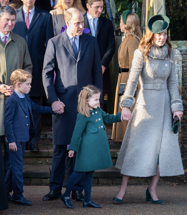 Princess Charlotte and Prince George made their grand Christmas debut at Sandringham this year.