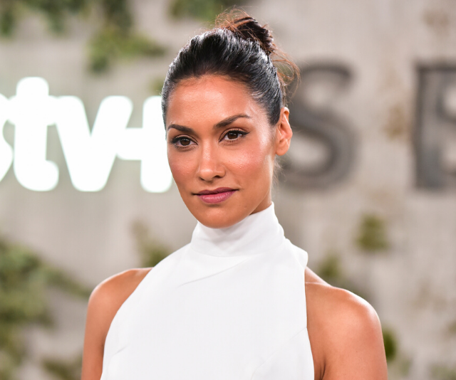 Janina currently stars alongside Reese Witherspoon and Jennifer Aniston in the new TV series *The Morning Show*. *(Image: Getty)*