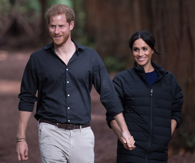 The duke and duchess enjoy nature - here they are photographed at The Redwoods Whakarewarewa Forest in Rotorua during their 2018 tour of NZ.
