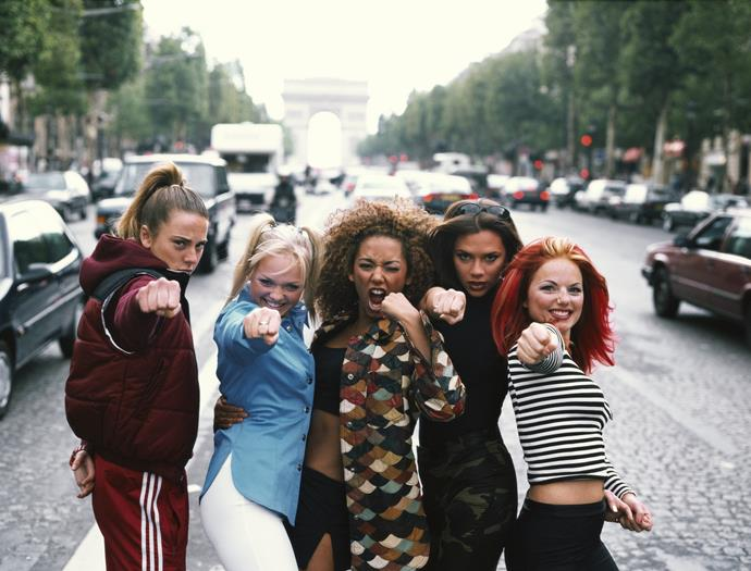 We're just casually freaking out over the latest Spice Girls reunion!