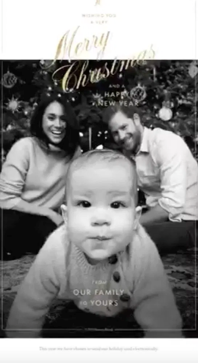 Meghan and Harry's Christmas card this year sparked a *lot* of joy.