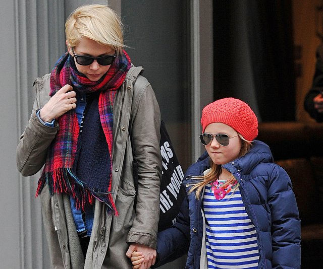 Michelle Williams is pregnant and engaged- and her daughter with Heath Ledger reportedly played matchmaker