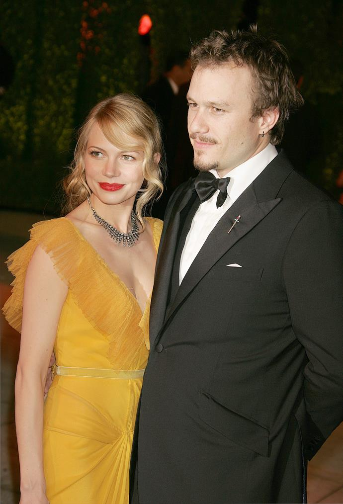 Michelle and Heath Ledger dated from 2004 to 2007.