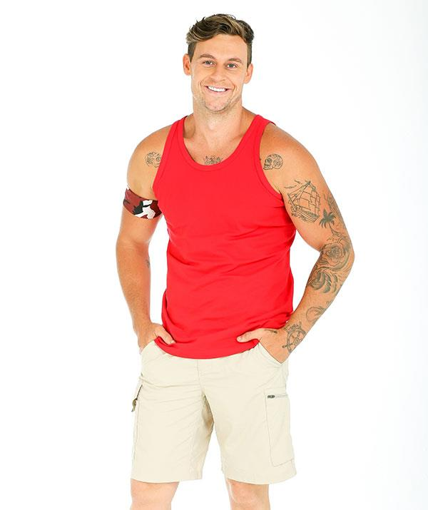 "**RYAN GALLAGHER, MARRIED AT FIRST SIGHT, 31** <br><br> **CHARITY: NBCF** <br><br> While most of Australia knows [Ryan Gallagher](https://www.nowtolove.com.au/reality-tv/im-a-celebrity-get-me-out-of-here/im-a-celebrity-mafs-ryan-gallagher-61992|target=""_blank"") from unsuccessfully trying to find love on [*Married At First Sight* in 2018](https://www.nowtolove.com.au/reality-tv/married-at-first-sight/revealed-this-years-married-at-first-sight-hopefuls-44196