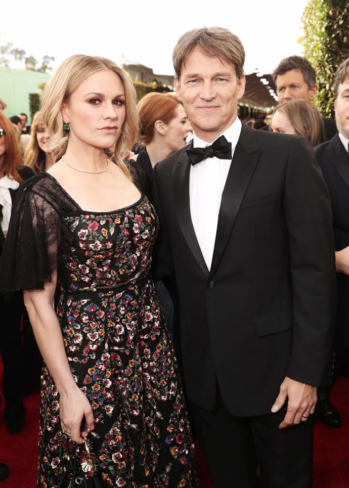 Kiwi actress Anna Paquin and husband Stephen Moyer are dripping in glamour for the big night.