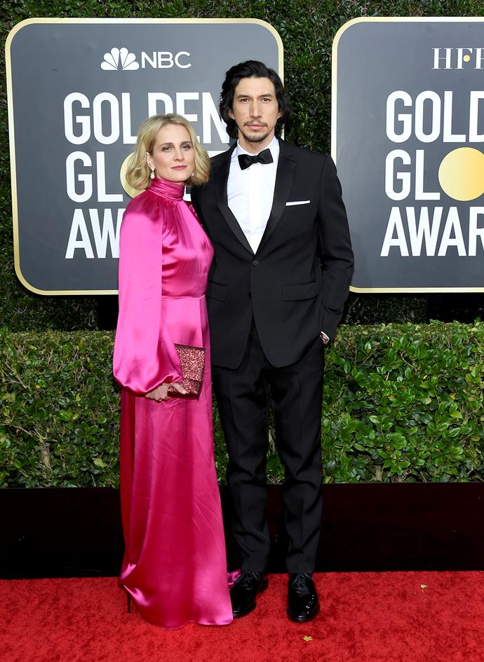 The dashing Adam Driver and wife Joanne Tucker are a right sight for sore eyes. Low-key fangirling over this couple right now!