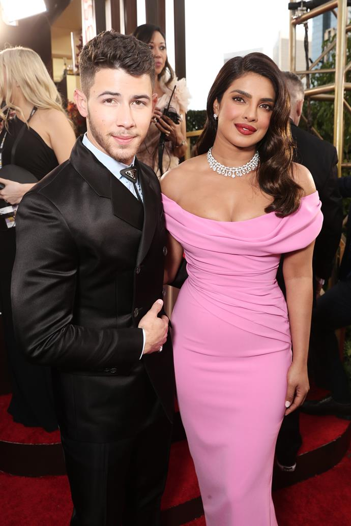 Husband and wife power duo Nick Jonas & Priyanka Chopra are looking glam as ever.