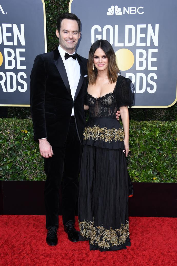 Bill Hader & Rachel Bilson make their official red carpet debut as a couple - dreams do come true!