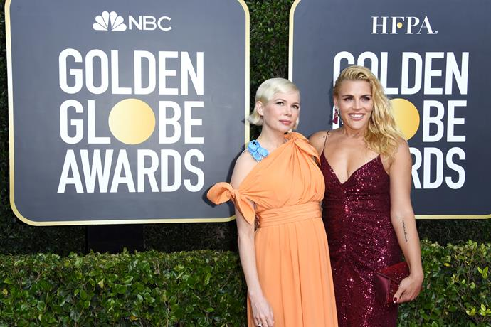 Busy Philipps & Michelle Williams are all smiles for the camera.