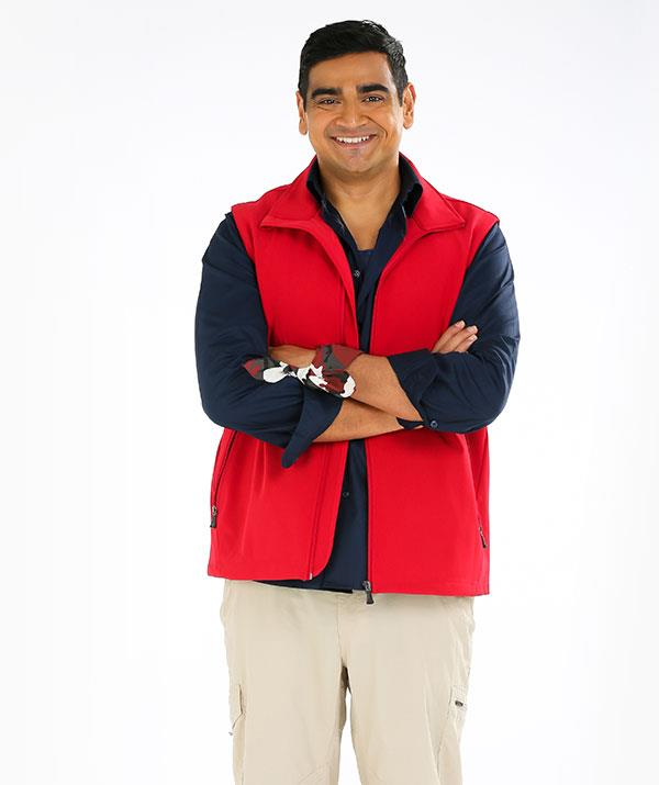 "**DILRUK JAYASINHA, COMEDIAN, 34** <br><br> **CHARITY: SHAKE IT UP AUSTRALIA FOUNDATION** <br><br> At the start of 2018, comedian [Dilruk Jayasinha](https://www.nowtolove.com.au/celebrity/tv/dilruk-jayasinha-logies-nomination-interview-49139|target=""_blank"") made a pledge (and a bet with a mate) to get his weight under 100 kilograms − at the time, he tipped the scales at 120kg. By the following year, he was an impressive 94kg. He kept going and lost 35 kilos in total.  <br><br> But now, almost two years since changing his life and belt size, the *Utopia* star admits it can be a struggle to maintain a healthier lifestyle, and that exercising and eating well doesn't always come naturally.  <br><br> ""It's still very much a challenge,"" Dilruk, 34, admits. ""It's basically having to undo 33 years of bad eating and exercise habits, and it's not going to happen overnight.  I do have to check myself a lot that I'm staying at it, because it's not something that comes naturally to me. "" <br><br> He admits the temptations of junk food and late-night snacking are his kryptonite.  <br><br> ""What comes naturally to me is lying on the lounge watching TV and eating chips,"" he quips. <br><br>  ""Losing the weight was the easy part, but keeping it off has been a nightmare. My every instinct is to push back to my old ways. I wish I was saying, 'Yes, I don't think about it,' but I'm thinking about it constantly."" <br><br> Having time to sit and think is also the part of the *[I'm A Celeb](https://www.nowtolove.com.au/reality-tv/im-a-celebrity-get-me-out-of-here