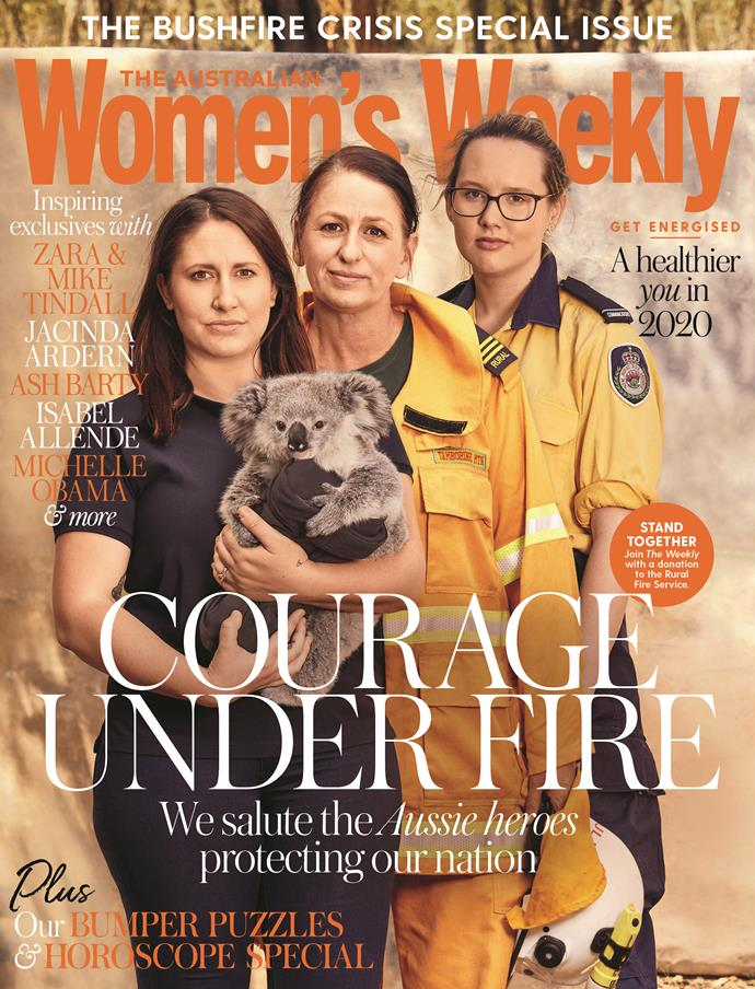 For more stories on the Australian bushfire crisis, grab your copy of January issue of *The Australian Women's Weekly*, on sale now.