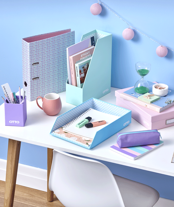 Love stationery? Small and big kids alike will love this pastel range.