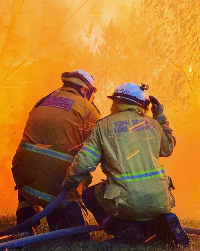 Firefighters from across the country have braved the blazes.