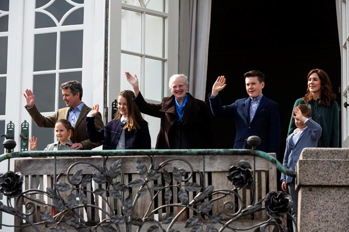 The Danish royal children have moved to Switzerland to attend school for three months.