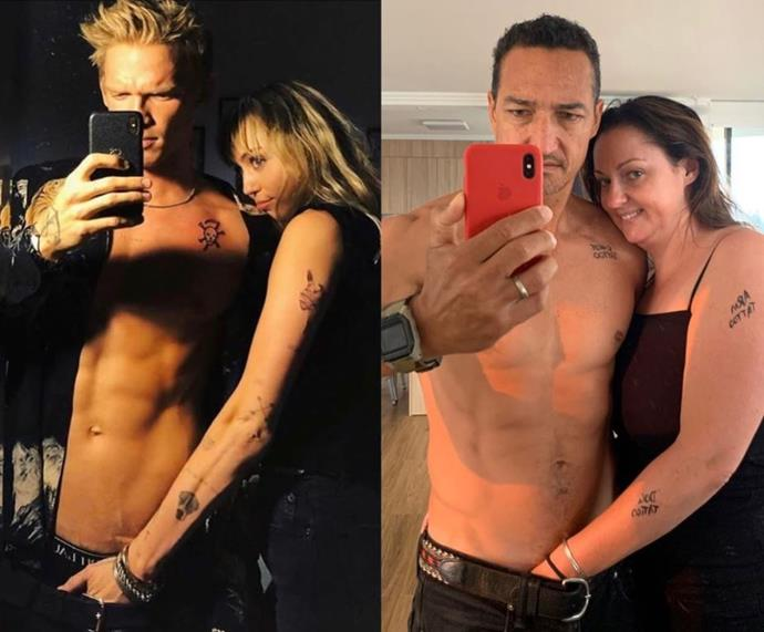 Celeste and her hubby take on the Internet's biggest PDA fans Miley Cyrus and Cody Simpson.