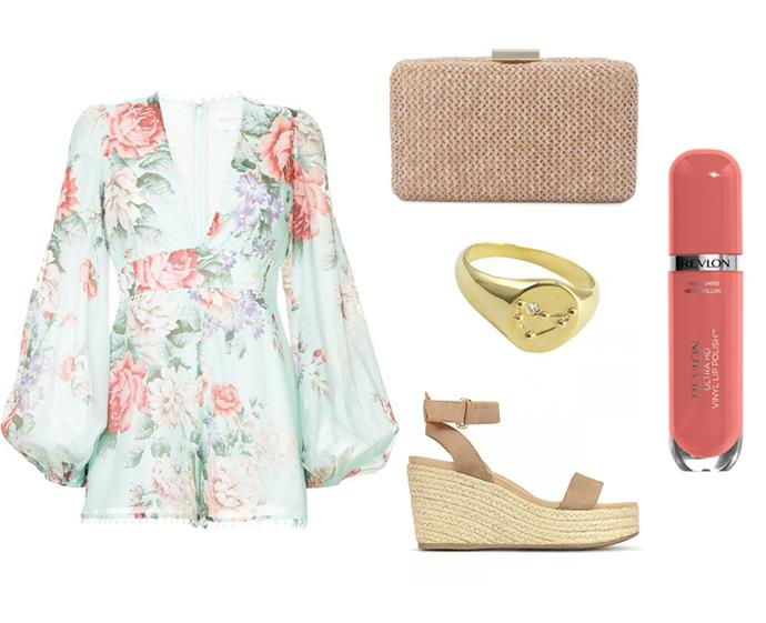 "Playsuit by Alice McCall, $69 to rent at [GlamCorner](https://www.glamcorner.com.au/designers/alice-mccall/one-by-one-playsuit|target=""_blank""