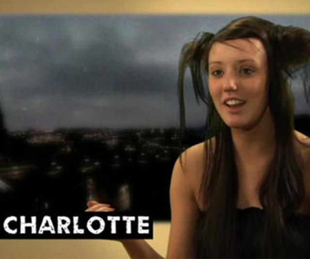 Charlotte pictured in the early days of Geordie Shore. How cute is she here?!