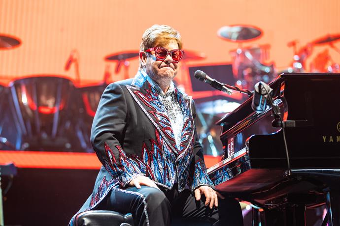 Elton John announced he would be donating one million dollars to the bushfire appeal.