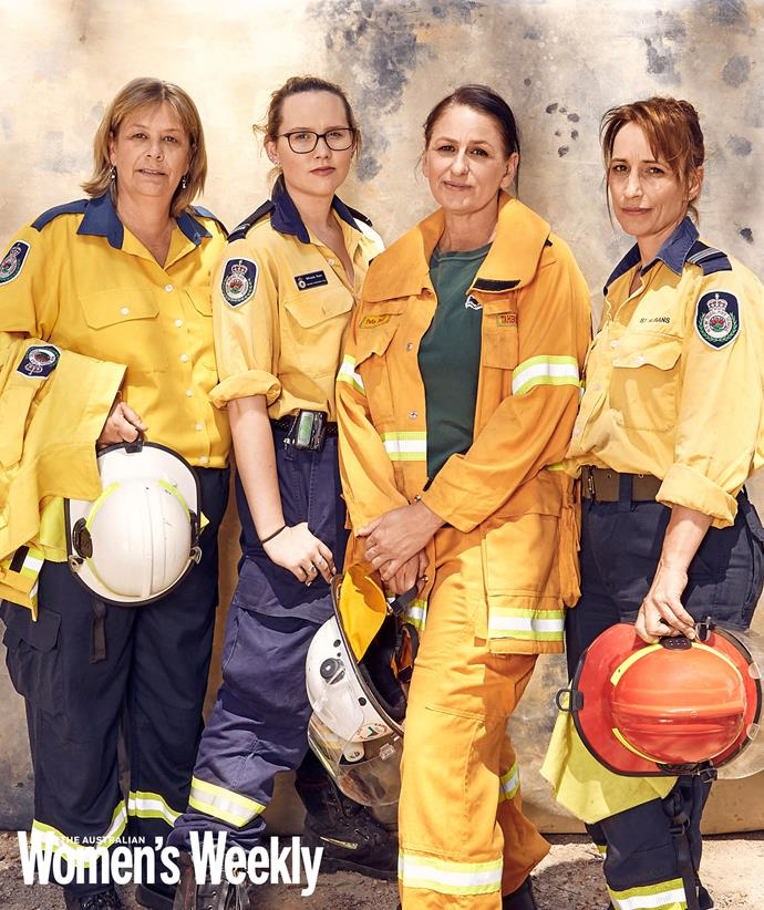 Vivien, Mikaela, Peta and Lilly are Aussie heroes still on the fire front in NSW.