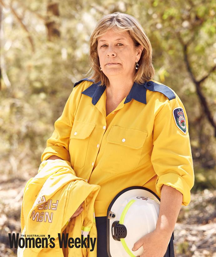 Vivien has been fighting fires for three decades.
