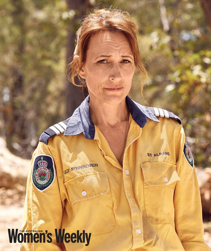Lilly, who captains the St Albans RFS brigade, says their ability to save lives and property is in part due to strategic planning ahead of the fire season.