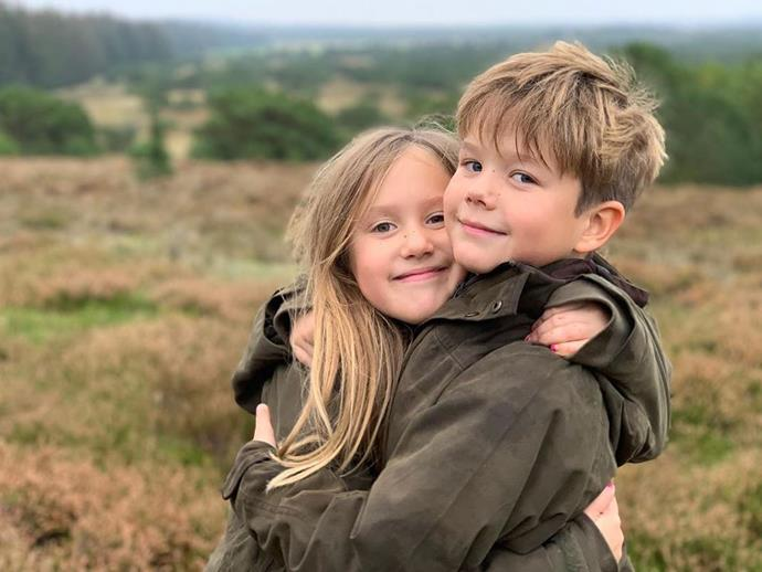Prince Vincent and Princess Josephine celebrated their ninth birthday on Wednesday.