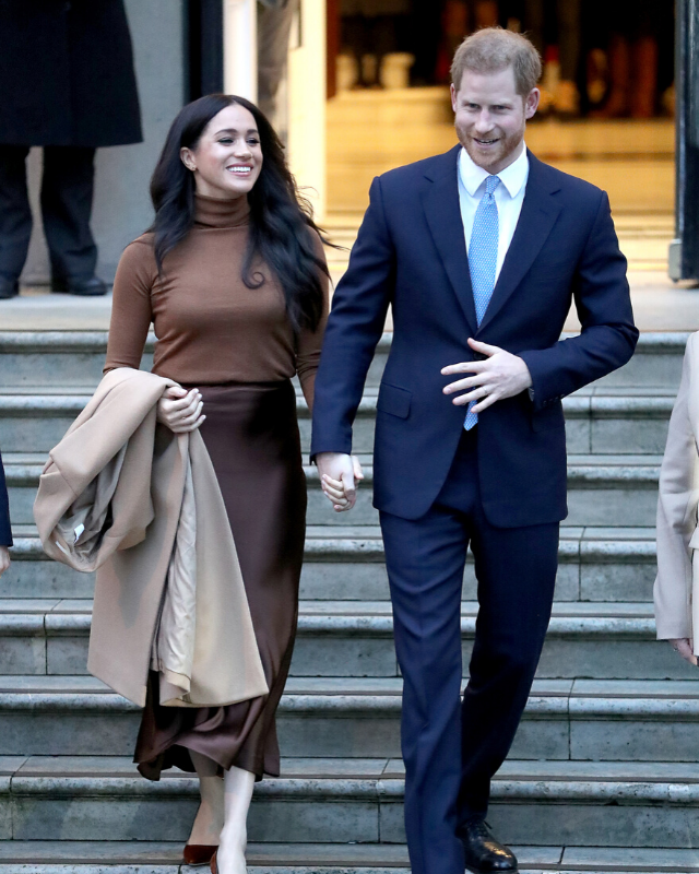 "According to Harry and Meghan, there had been ""many months of reflection and internal discussions,"" prior to making their decision."