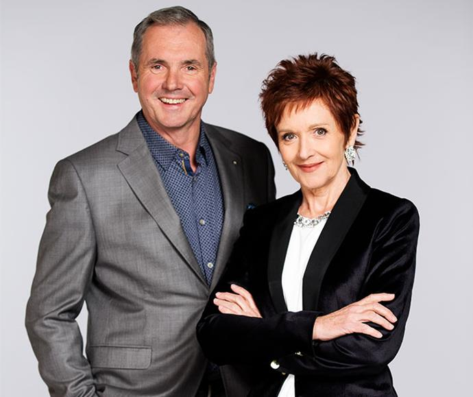 Seasoned proffesionals: Alan Fletcher and Jackie Woodburne return as Karl as Susan in 2020.