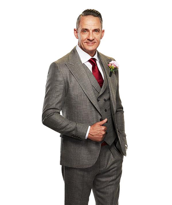 """**STEVE, 51** <br><br> After surviving [testicular cancer](https://www.nowtolove.com.au/reality-tv/married-at-first-sight/married-at-first-sight-nic-testicular-cancer-53762