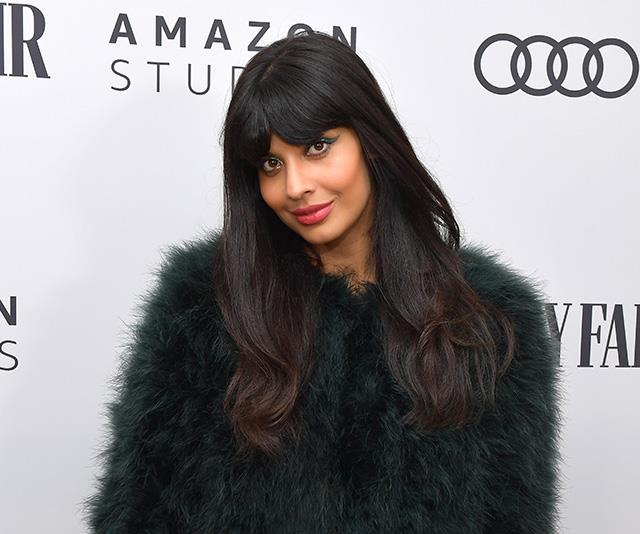 Actress and body positivity advocate Jameela Jamil is the star of *The Good Place*.