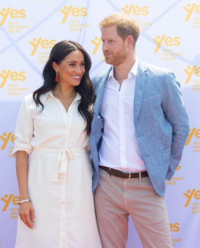 We'll just be over here patiently waiting to see Harry and Meghan's story line unfold...