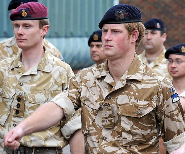 Prince Harry earned money during his time serving in the Army.
