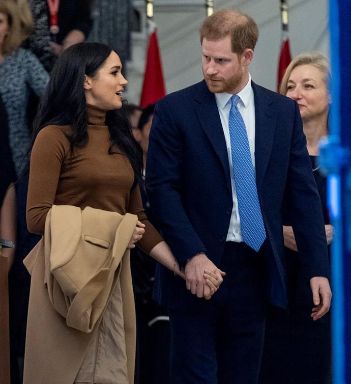 Meghan and Harry will attend a crisis meeting with the Queen on Monday, January 13.