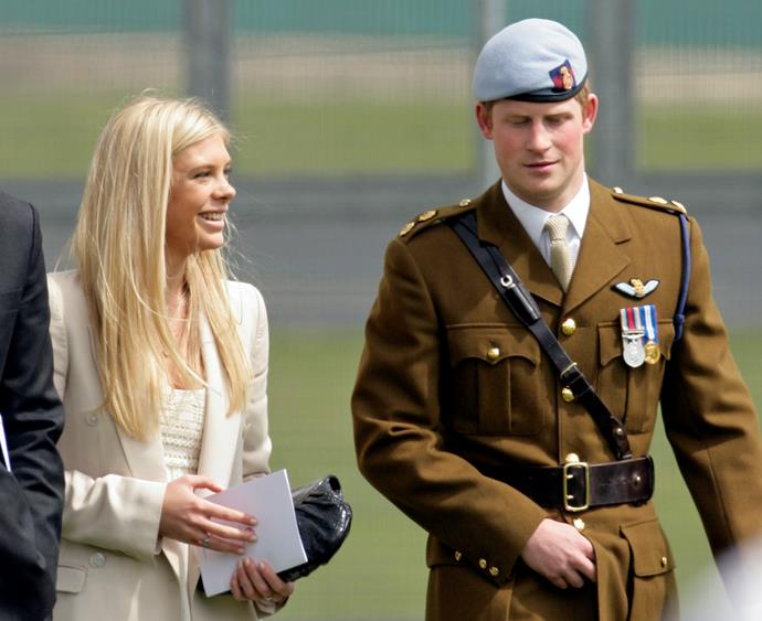 Prince Harry's ex-girlfriends Chelsy (pictured) and Cressida were under heavy media scrutiny while they dated the royal.