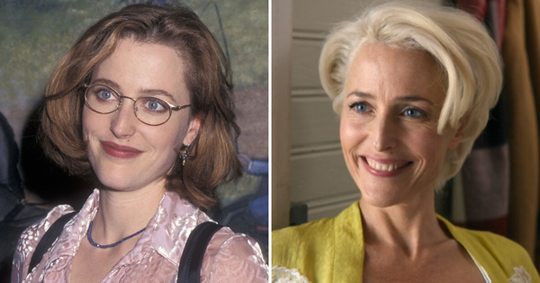 Gillian Anderson: Before-and-after photos of her transformation over the years | Now To Love