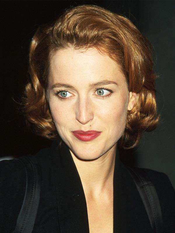 Gillian pictured in 1996. How stunning does she look?