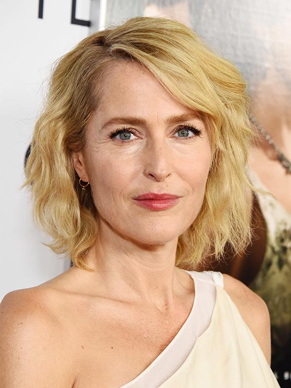 Gillian has aged incredibly well over the years. She's pictured here on the red carpet in 2019.