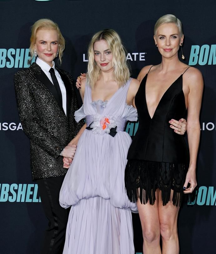 Margot's co-star Nicole Kidman missed out on a nomination.