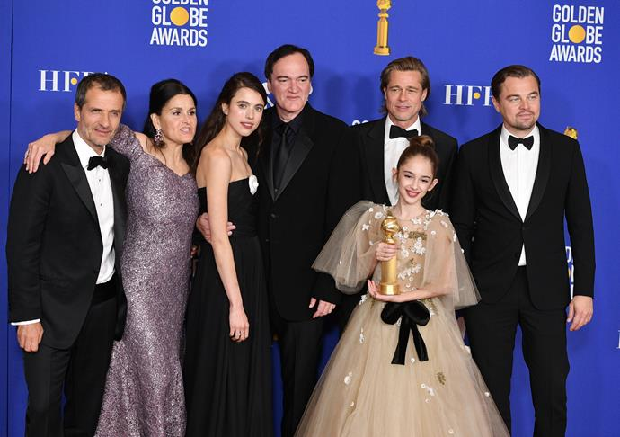 Quentin Tarantino's *Once Upon a Time... In Hollywood* scored big at the Golden Globes - and looks set to do the same at the Oscars.